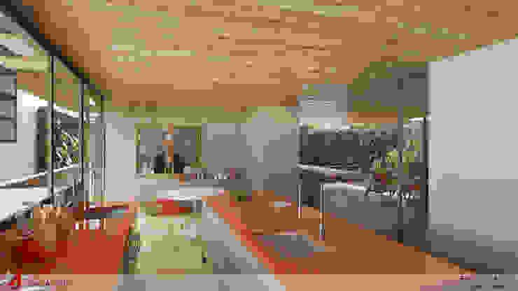 COZINHA Cozinhas modernas por STUDIO LUIZ VENEZIANO Moderno