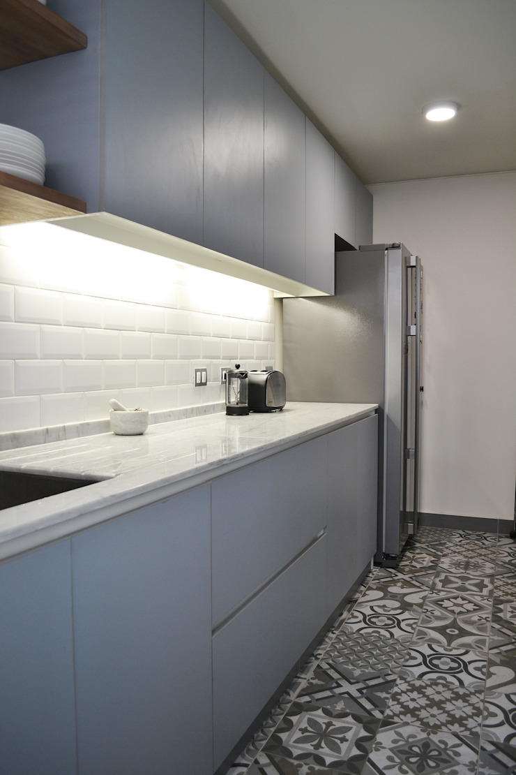 ESTUDIO BASE ARQUITECTOS Kitchen