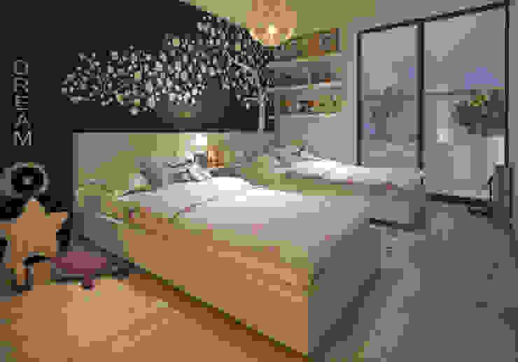 Dormitorio secundario - COSMOPOLITA de FABRE STUDIO
