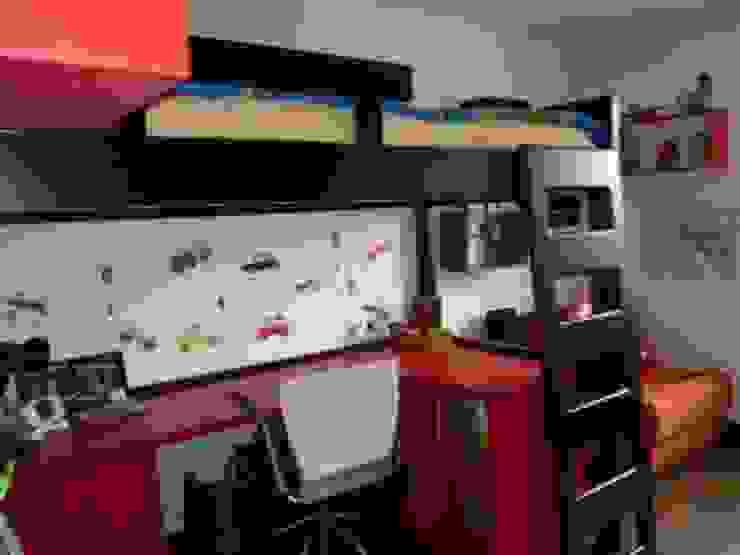 PROYECTO MOBILIARIO HOGAR APARTAMENTO Habitaciones para niños de estilo moderno de La Carpinteria - Mobiliario Comercial Moderno