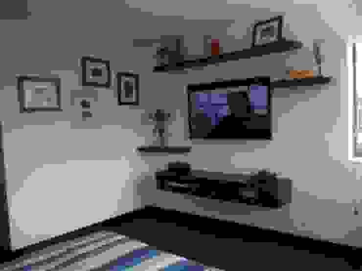 PROYECTO MOBILIARIO HOGAR APARTAMENTO Habitaciones modernas de La Carpinteria - Mobiliario Comercial Moderno