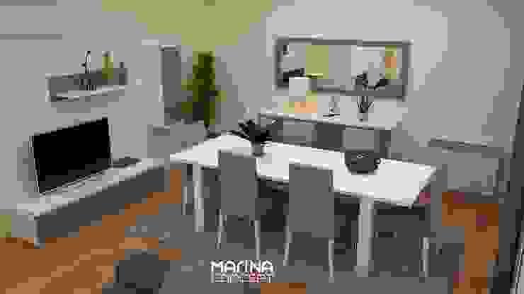 Sala de jantar por MARINA CONCEPT