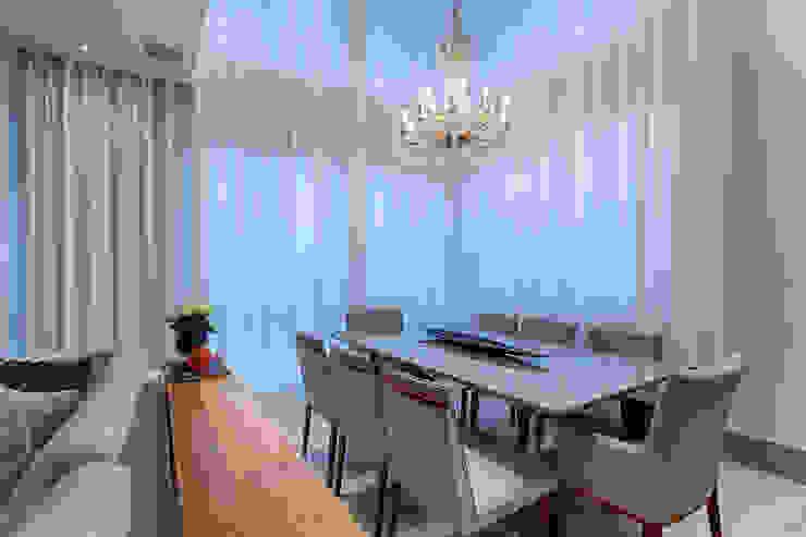 Sala de Jantar Salas de jantar clássicas por Emmanuelle Eduardo Arquitetura e Interiores Clássico