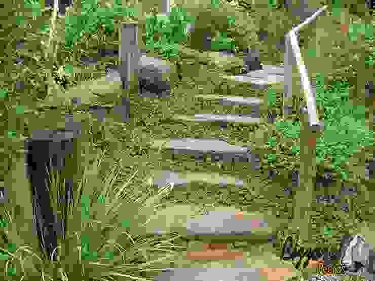 Jardines rústicos de Bizzarri Pedras Rústico