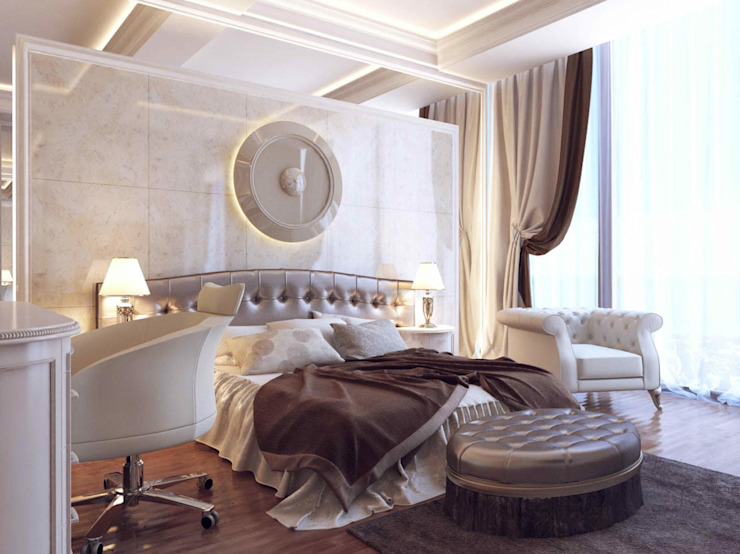 Phòng ngủ phong cách hiện đại bởi RayKonsept Hiện đại