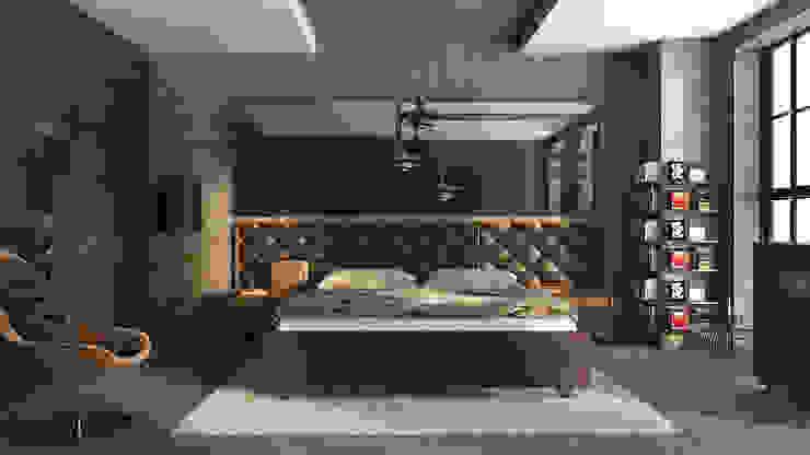 Konut Projeleri Modern Yatak Odası RayKonsept Modern