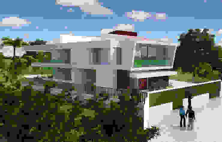 RESIDÊNCIA EM ANGOLA: Casas  por Arquitetos Brasil