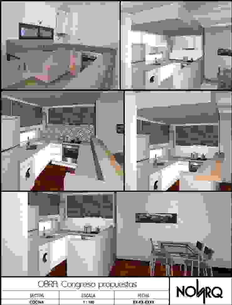 Reforma Cocina Cocinas modernas: Ideas, imágenes y decoración de NovArq Moderno