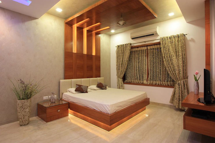 Bedroom Ansari Architects Modern style bedroom