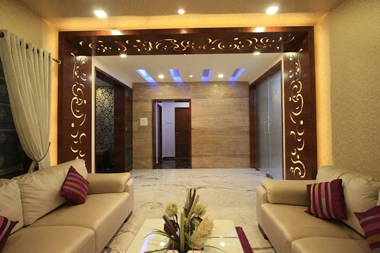 Drawing room Modern living room by Ansari Architects Modern
