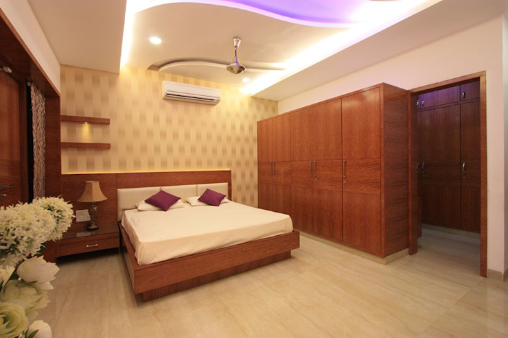 Bedroom Modern style bedroom by Ansari Architects Modern