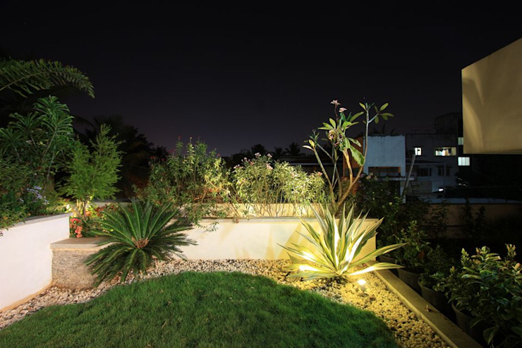 Terrace garden Modern Garden by Ansari Architects Modern