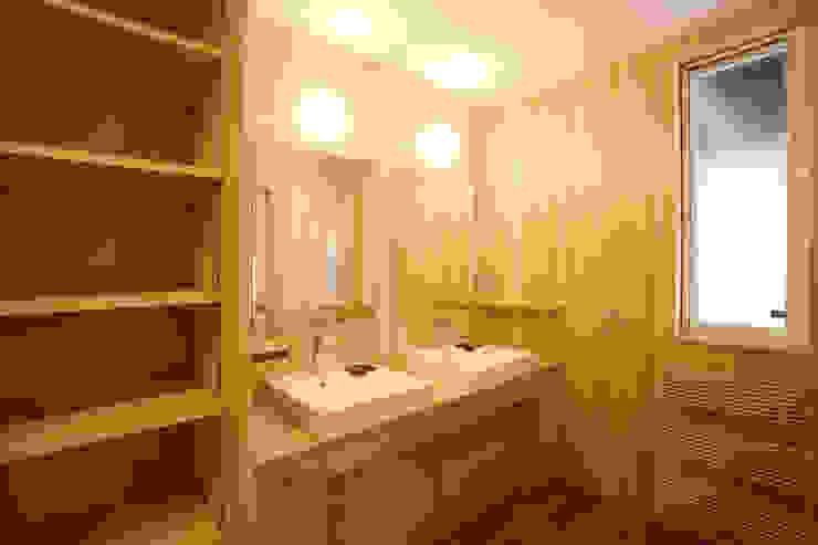 洗面室 和風の お風呂 の 一級建築士事務所 アトリエ カムイ 和風
