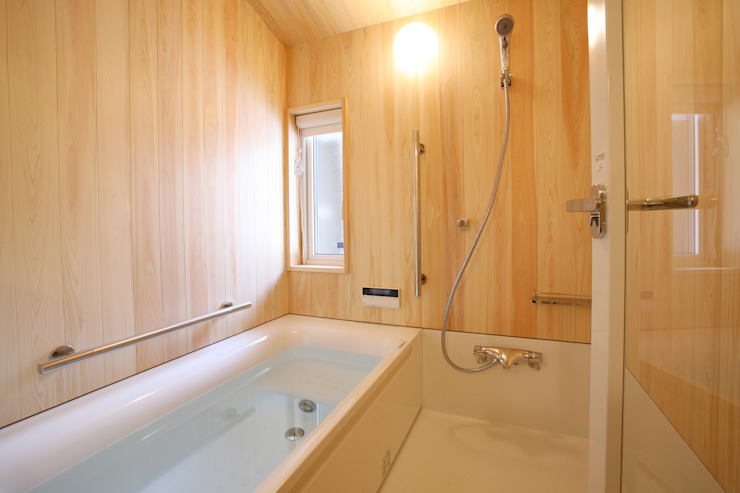 浴室 和風の お風呂 の 一級建築士事務所 アトリエ カムイ 和風