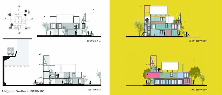 Sections/Elevations by FabArch Industrial