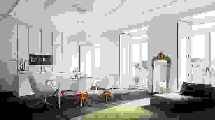 모던스타일 주방 by Berga&Gonzalez - arquitectura y render 모던