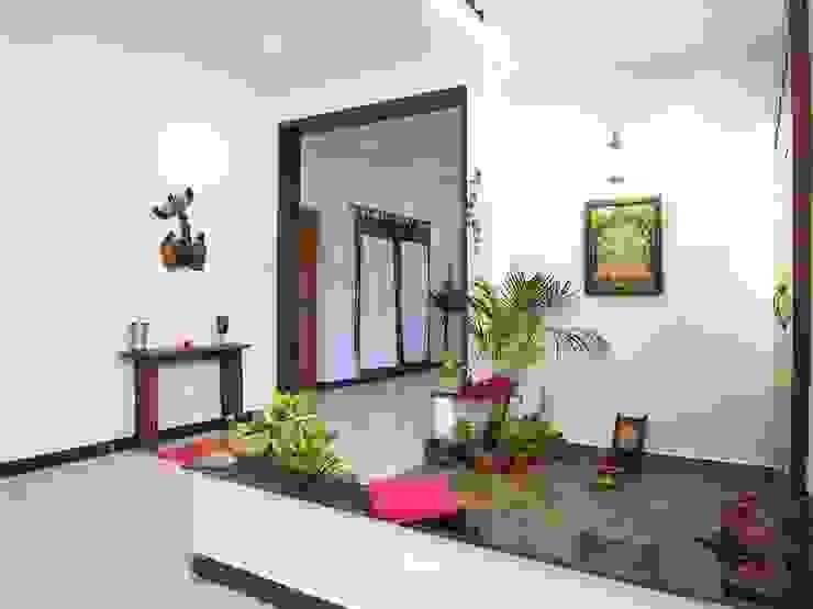 pooja room Ansari Architects Modern living room