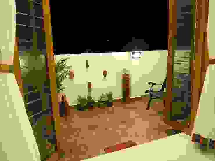 Balcony Ansari Architects Modern balcony, veranda & terrace