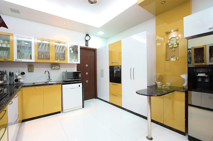 Kitchen Ansari Architects Modern style kitchen