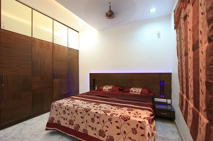 Bedroom Modern Bedroom by Ansari Architects Modern