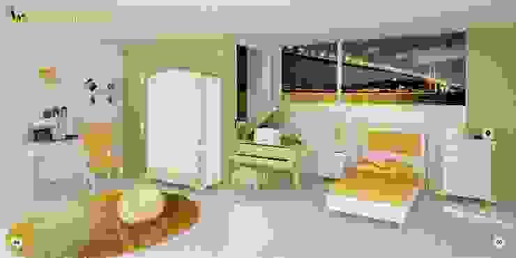 HUREM IN THE DAYLIGHT AT BOSPHORUS Woody Modular Furnitures by Aga Orman Urunleri Ltd. Asyatik