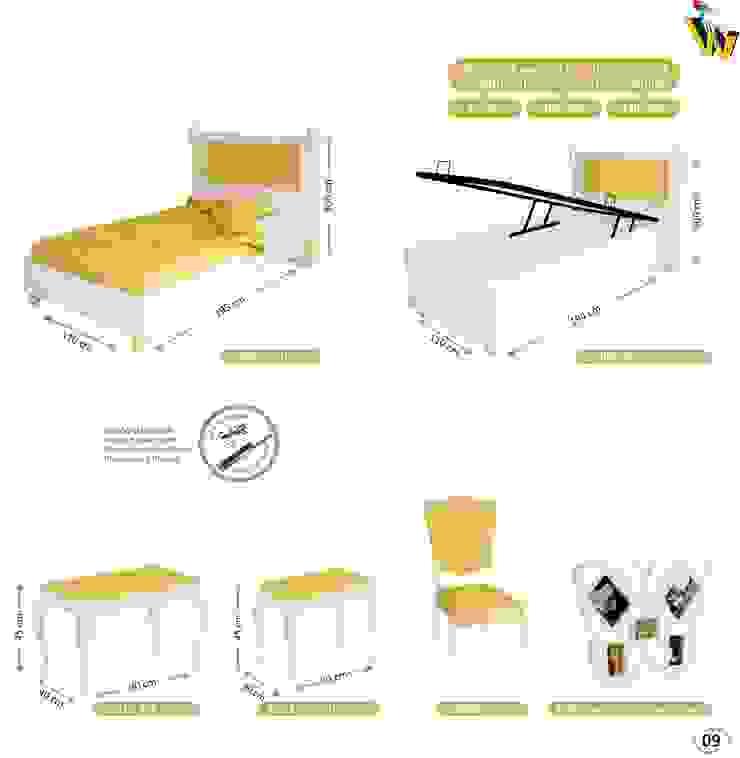 HUREM SETS COMPONENTS & ACCESOIRES Woody Modular Furnitures by Aga Orman Urunleri Ltd. Asyatik