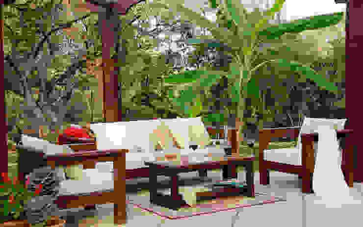 OUTDOOR LIVING homify Balconies, verandas & terraces Furniture