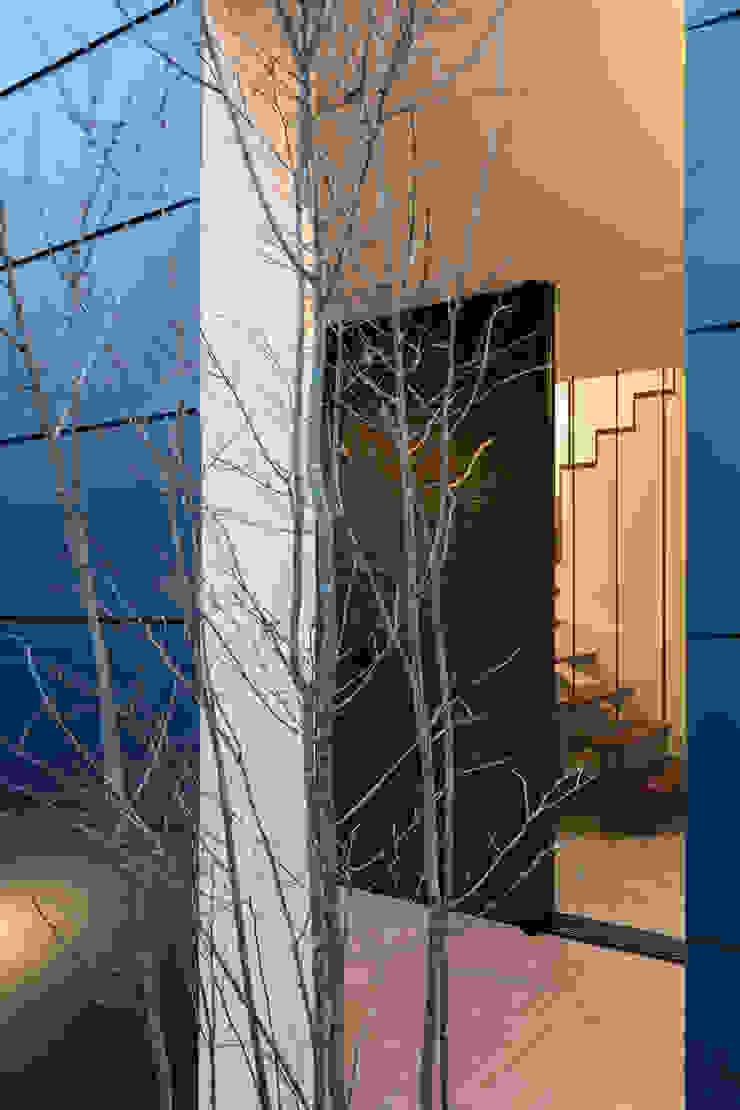 Portas e janelas modernas por 設計事務所アーキプレイス Moderno Ferro/Aço