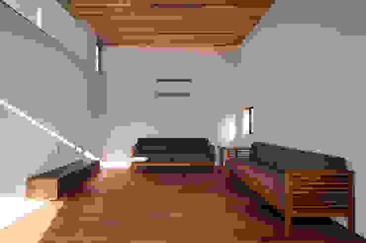 設計事務所アーキプレイス의  거실, 모던