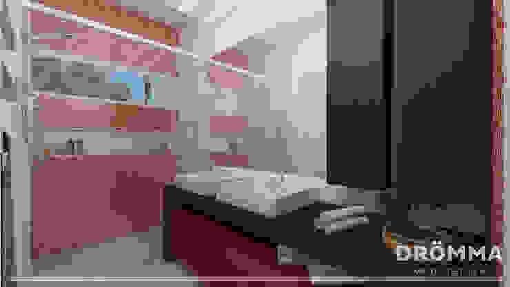 INTERIORES M |G 147 Banheiros modernos por Drömma Arquitetura Moderno