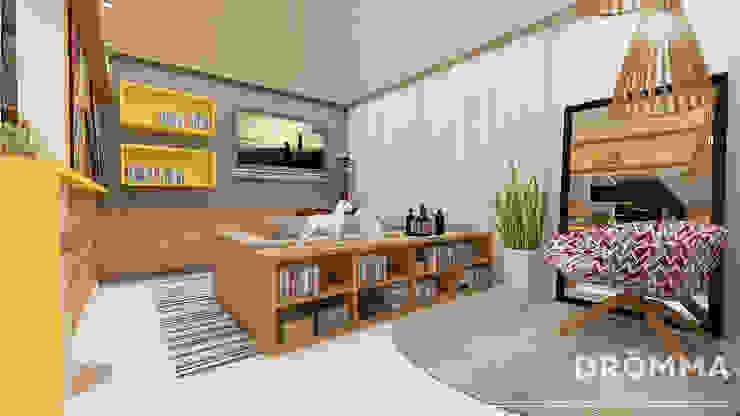 INTERIORES M |G 147 Salas de estar modernas por Drömma Arquitetura Moderno