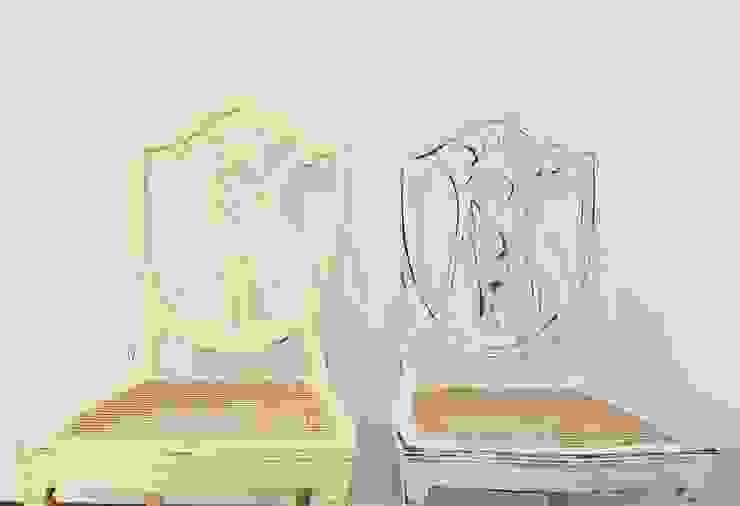 Cadeiras por Rafaela Fraga Brás Design de Interiores & Homestyling Rústico Madeira Acabamento em madeira