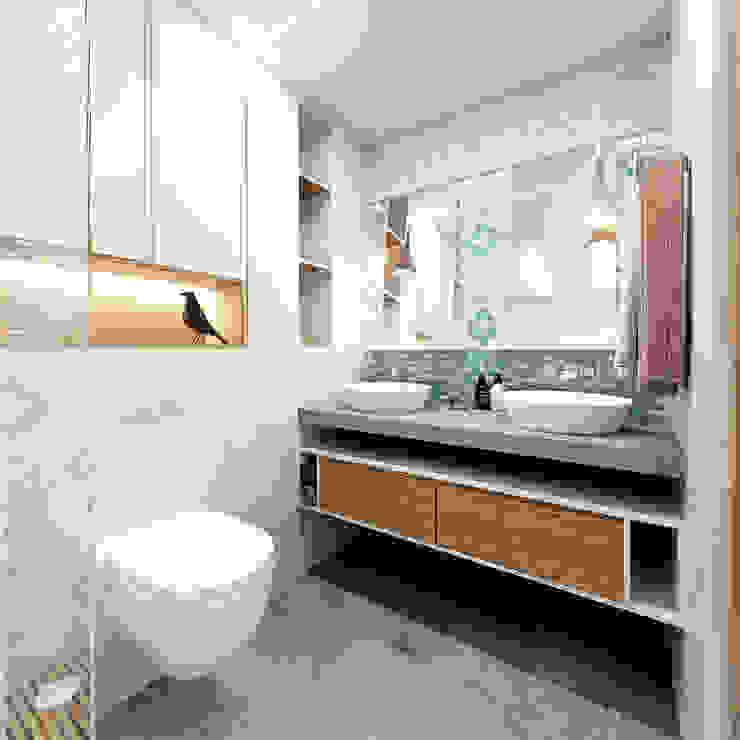 KYD BURO Baños de estilo escandinavo