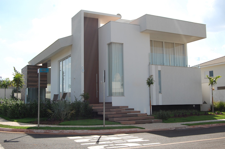 Mari e Veri Arquitetura Eclectic style houses