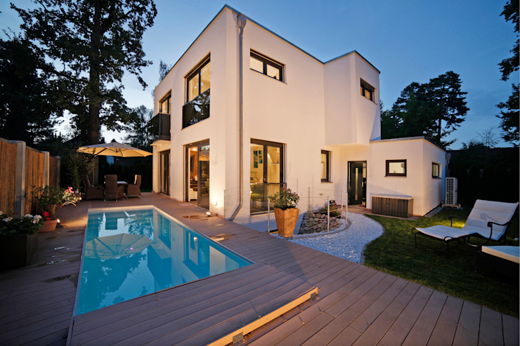 Modern houses by Gerhard Blank Fotografie für Immobilien & Architektur Modern