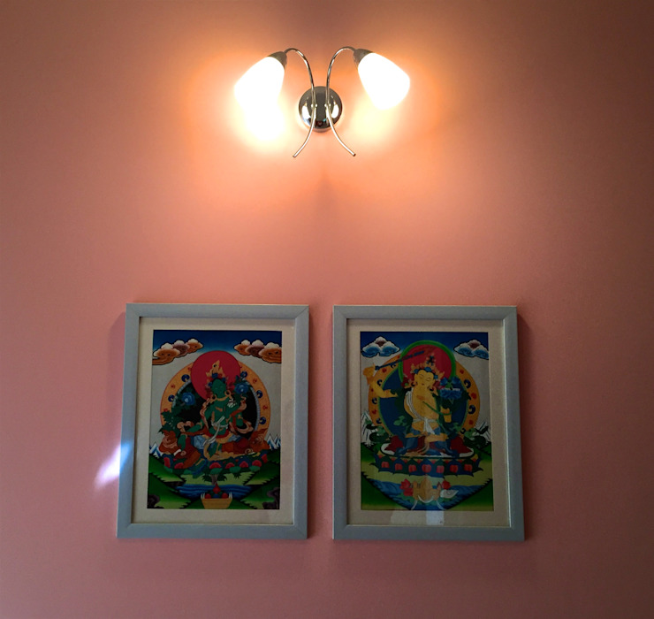 Eclectic style corridor, hallway & stairs by Design Kkarma (India) Eclectic
