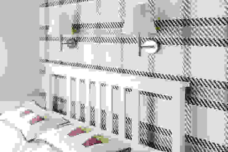 Camera da letto in stile mediterraneo di Anna Serafin Architektura Wnętrz Mediterraneo