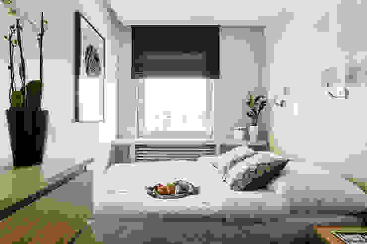 Habitaciones modernas de Anna Serafin Architektura Wnętrz Moderno