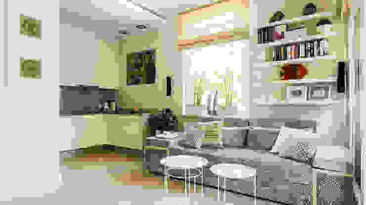 Livings de estilo moderno de Anna Serafin Architektura Wnętrz Moderno