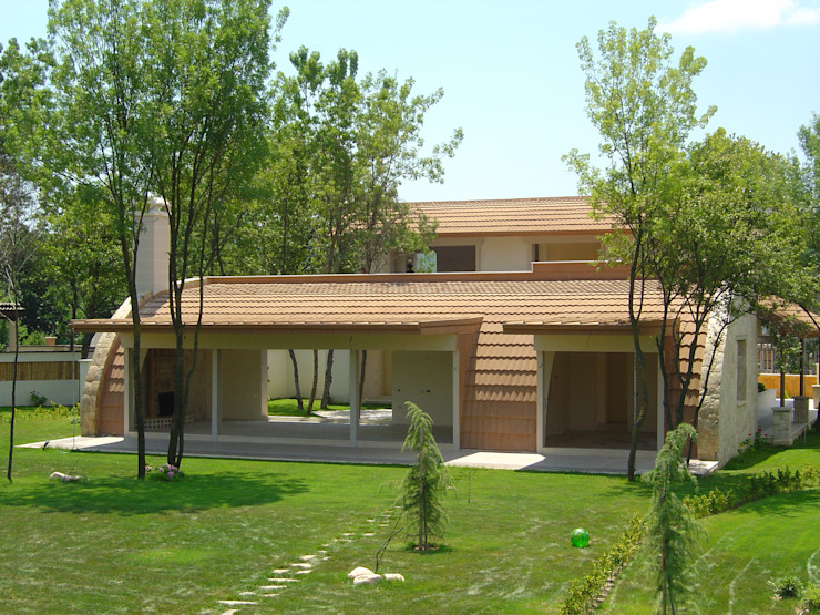 SAYTAS SABUNCUOGLU YAPI VE TIC.LTD.STI. Country style houses