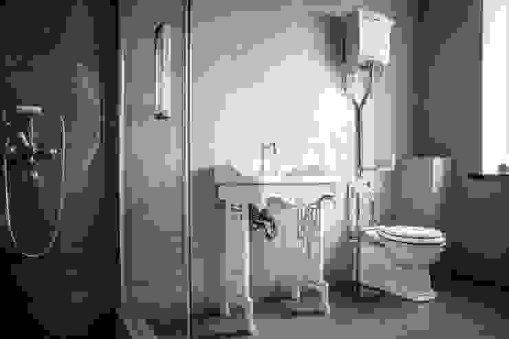 Bathroom by Novichkova, Industrial Concrete