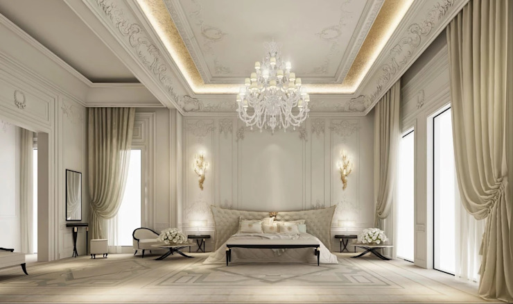 Master Bedroom - Private Residence IONS DESIGN Classic style bedroom