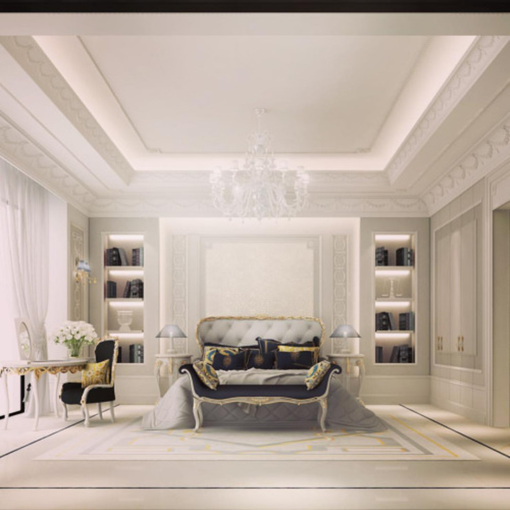 Interior Design & Architecture by IONS DESIGN Dubai,UAE IONS DESIGN Classic style bedroom