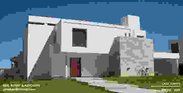 Casa en Barrio Privado San Isidro - Cordoba - Argentina: Casas de estilo  por Alejandro Asbert Arquitecto,Moderno Concreto reforzado