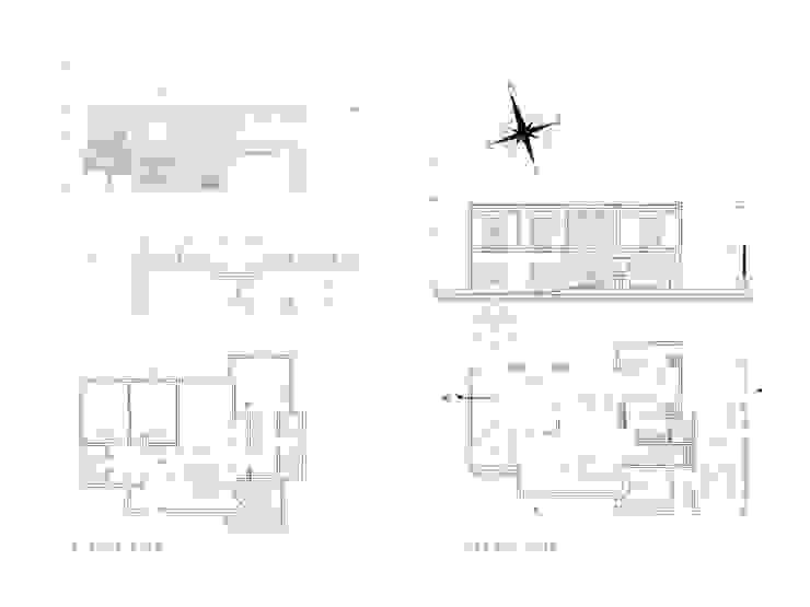 Casa en Barrio Privado San Isidro – Cordoba – Argentina Casas modernas: Ideas, imágenes y decoración de Alejandro Asbert Arquitecto Moderno Concreto reforzado
