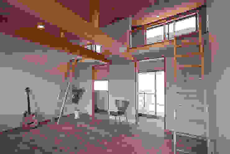 八木原の家 オリジナルスタイルの 寝室 の ATELIER N オリジナル