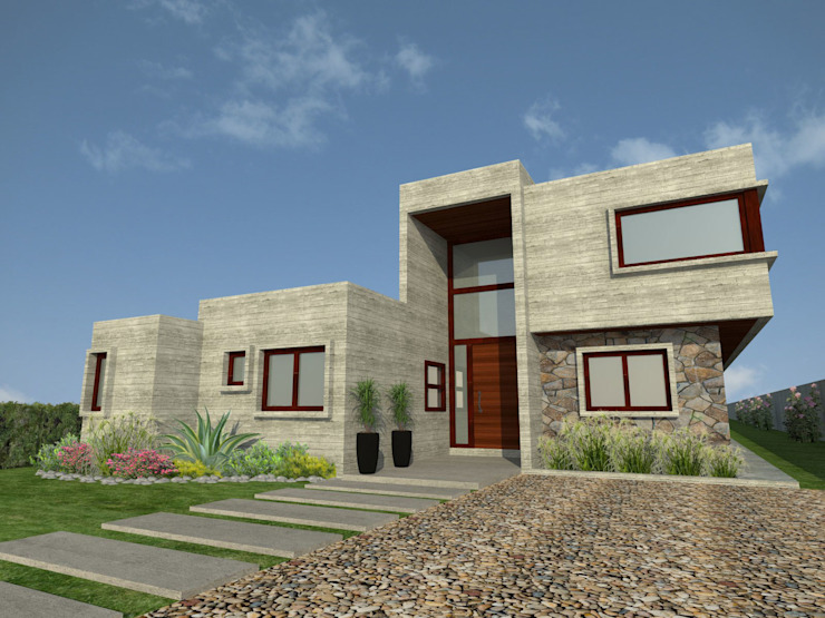 Дома в . Автор – Vibra Arquitectura,
