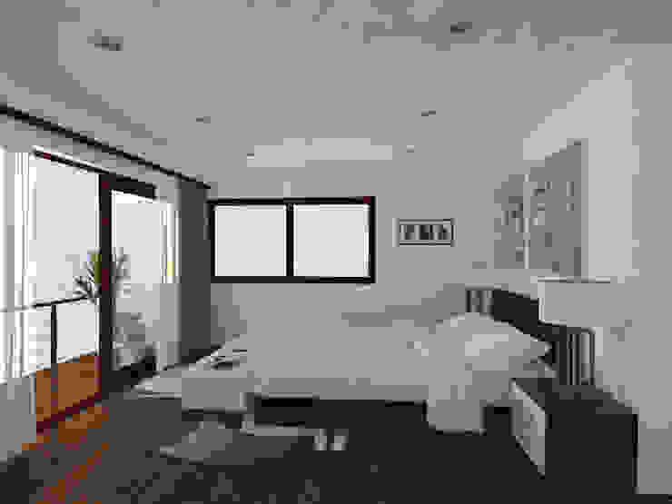 Casa Gama Dormitorios de estilo moderno de Vibra Arquitectura Moderno