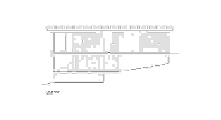 Casa Lago Ranco de Vibra Arquitectura Moderno