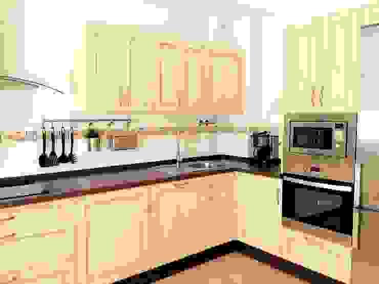 de Cocinas y Muebles Angulo Rústico Madera Acabado en madera